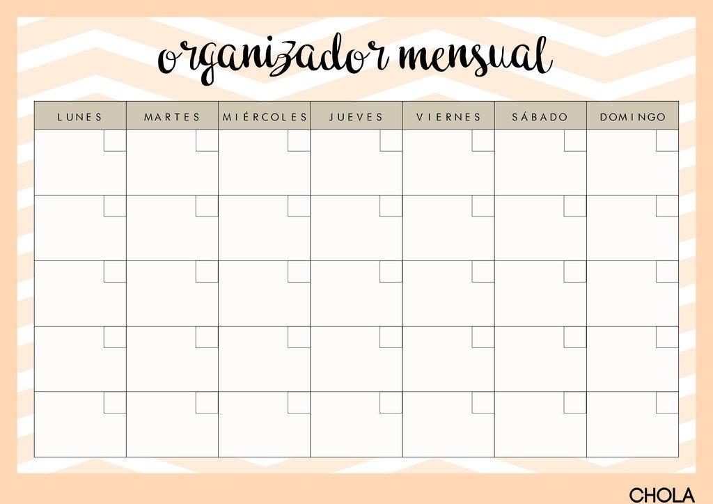 Pizarra organizador mensual this month - Pizarra calendario ...