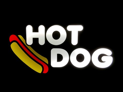 Luminoso LED Linha FOOD - Hot Dog - comprar online