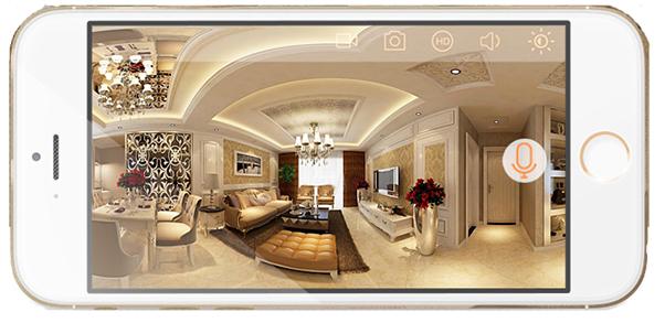 180° Panorámica HD - Smart Camera