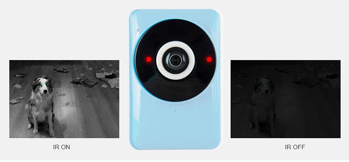 180° Panorámica HD - Smart Camera - vision nocturna