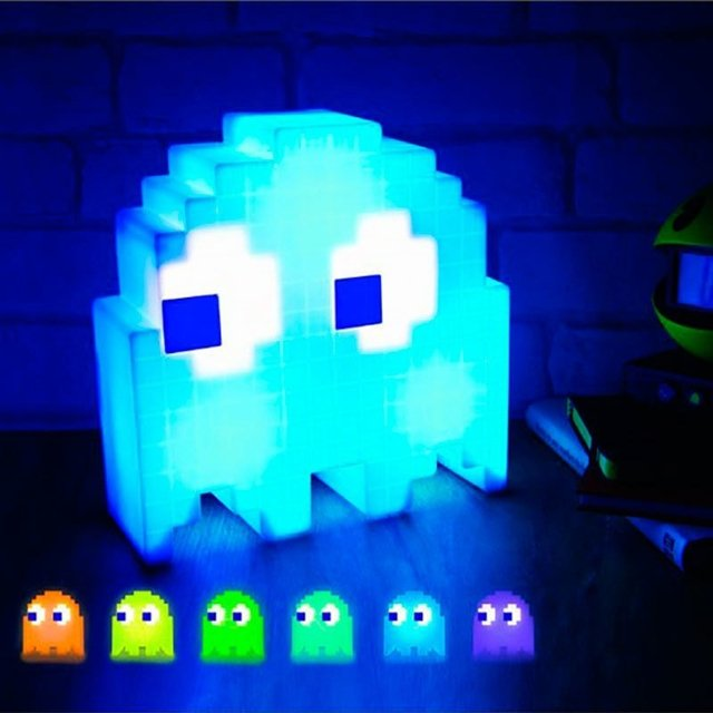 PAC-MAN Ghost Light USB LED