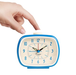 UP CLOCK - RELOJ DESPERATDOR RETRO AZUL - comprar online