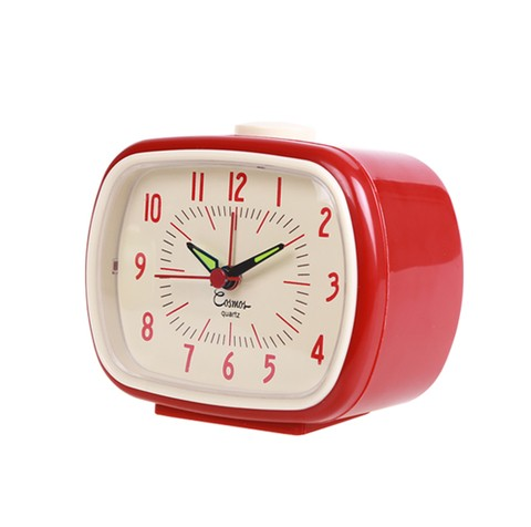 UP CLOCK - RELOJ DESPERTADOR ROJO