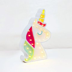 CARTEL LED UNICORNIO 3