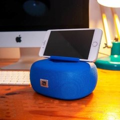 PARLANTE RADIO BLUETOOTH BLUE