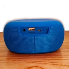 PARLANTE RADIO BLUETOOTH BLUE en internet