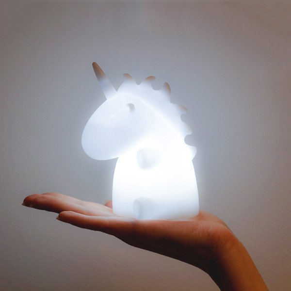 Lampara Mini Unicornio Led Blanca - comprar online