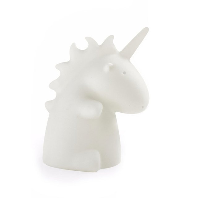 Lampara Mini Unicornio Led Blanca