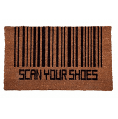 FELPUDO SCAN YOUR SHOES