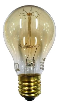 Lámpara Bombita Filamento A60 Edison Antique Dimeable 24w