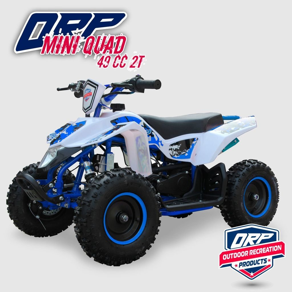 Mini Quad - Azul y Blanco
