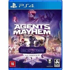 Jogo Agents Of Mayhem - PS4