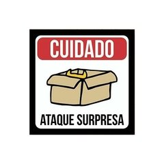 Placa - Ataque Surpresa