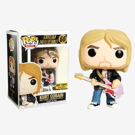 Funko Pop: Kurt Cobain (Nirvana) (Hot Topic Exclusive) - comprar online