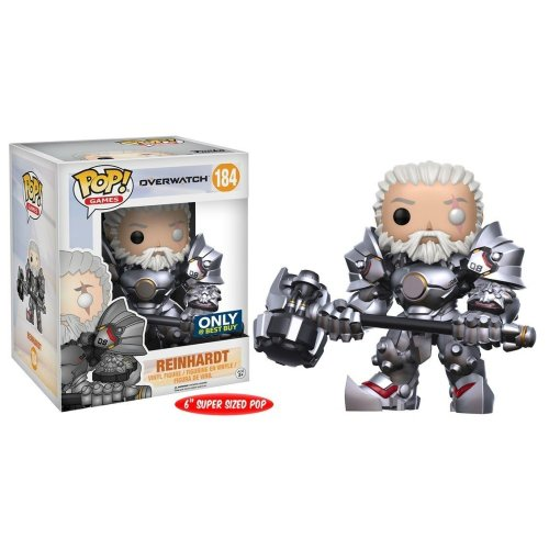 Funko Pop: Reinhardt (Overwatch) (Best Buy Exclusive) (6