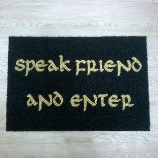 Capacho Speak Friend And Enter