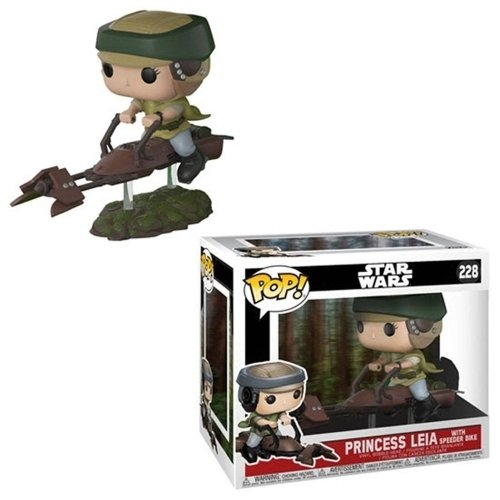 Funko Pop: Princess Leia With Speeder Bike (Star Wars)
