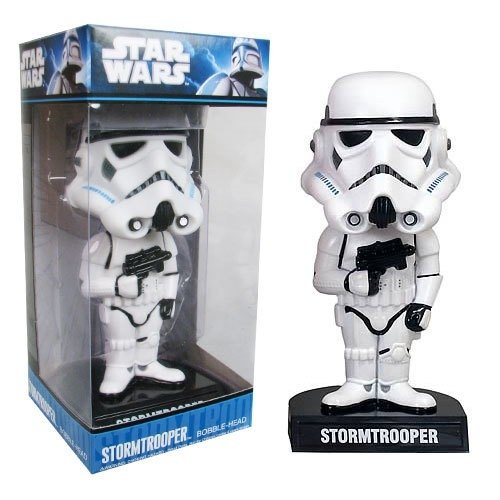 Funko Wacky Wobbler: Bobble Head Stormtrooper (Star Wars)