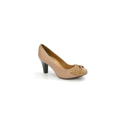 Sapato Scarpin Feminino Bottero Brown Sugar Salto Medio