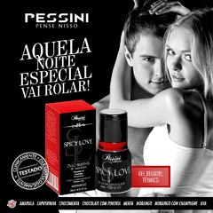 Spicy Love Gel comestível