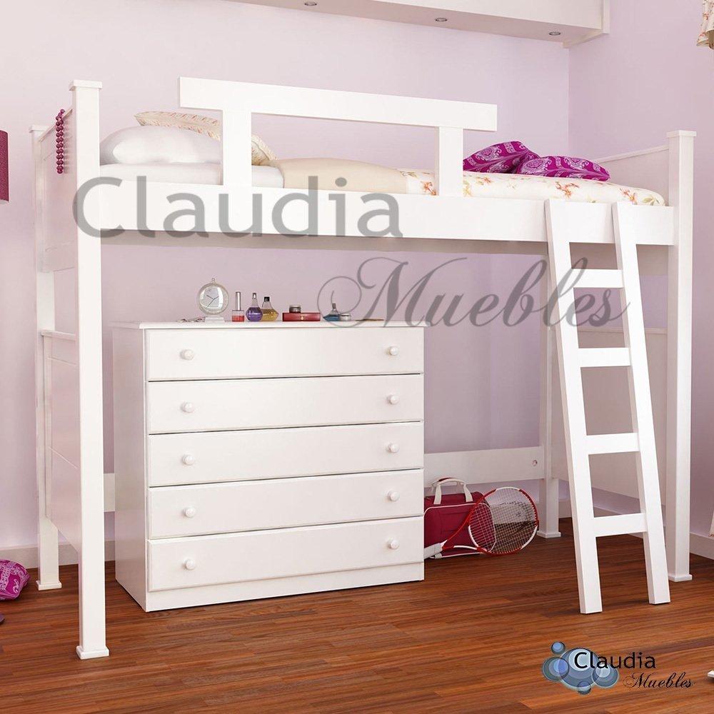 Cama puente euforia comprar en claudia muebles for Camas puente infantiles