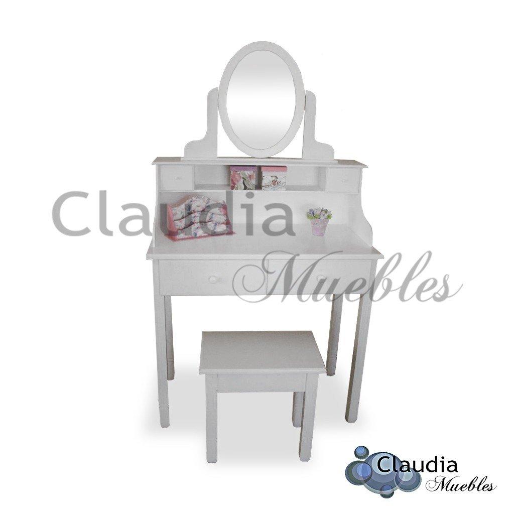Secreter Con Espejo Laqueado Claudia Muebles # Muebles Secreter