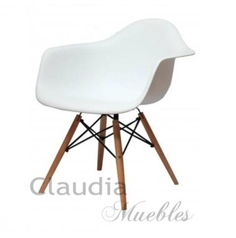silln eames nrdico claudia muebles - Sillon Eames