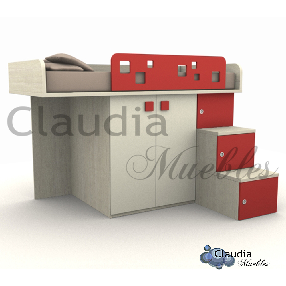 dos o ms nios en un dormitorio infantil el espacio que se gana con estos modelos puede ser utilizado para colocar un escritorio o biblioteca