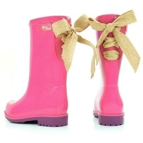 Imagem do Bota Galocha Barbie Power Fashion Rosa - Grendene