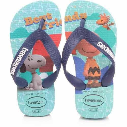 Chinelo Infantil Snoopy - Havaianas