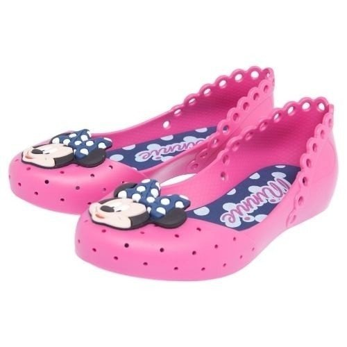 Sandália Sapatilha Disney Minnie Dots Rosa - Grendene Kids