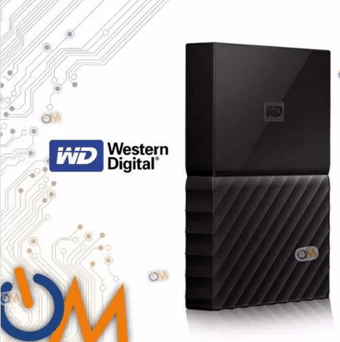 Disco Externo Portatil Wd Western Digital My Passport 1tb Us