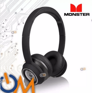 Auricular Monster N-tune Original Hd Color Negro!