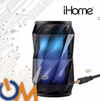 Parlante Ihome Ibt74 Bluetooth Luces Colores A Ritmo Musical