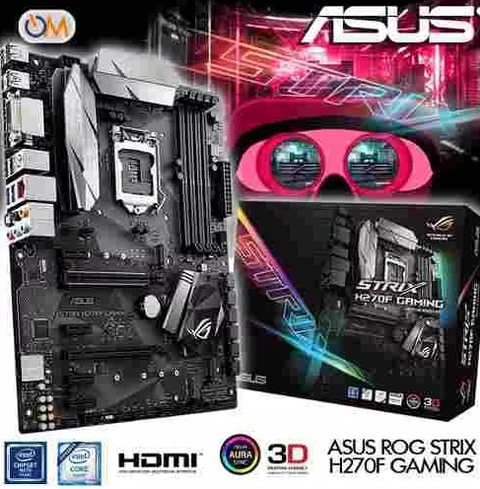 Mother Asus Strix H270F Gaming Lga 1151 Nuevo Modelo