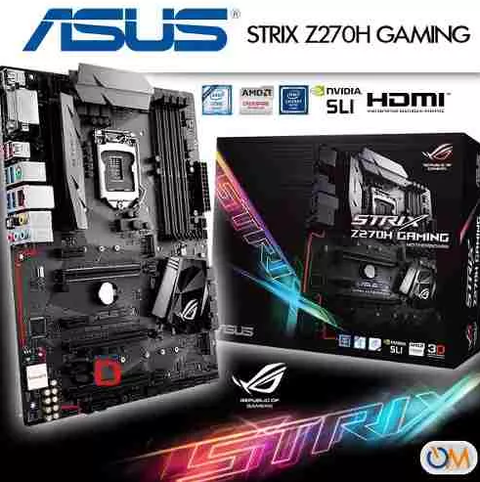 Mother Asus Strix Z270h Gaming Lga 1151 Nuevo Modelo