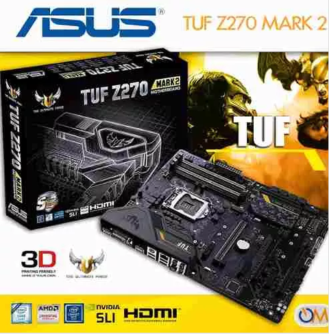Mother Asus Tuf Z270 Mark 2 Lga 1151 Nuevo Modelo