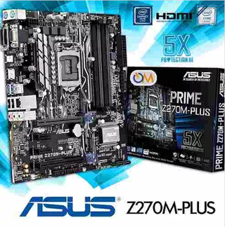 Mother Asus Prime Z270m Plus Lga 1151 Nuevo Modelo