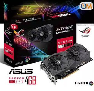 Placa De Video Asus Radeon Rx 570 4gb Strix Gaming Rog