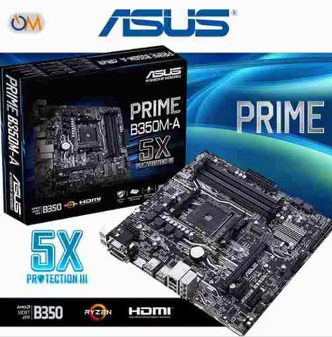 Mother Asus Prime B350m-a Am4 Ryzen B350 Amd