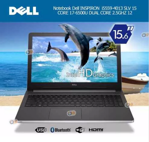 Laptop Notebook Dell Inspiron I5559 15.6' I7 1tb 12gb Win 10