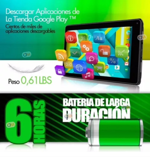 Imagen de Tablet Rca 7 16gb Android 6.0 Hd Intel Quad Core Dual Cam