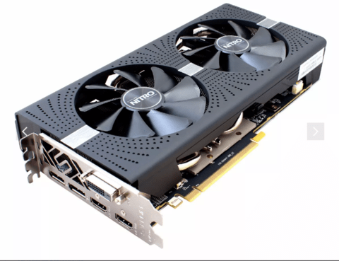 Placa De Video Sapphire Amd Radeon Rx 580 4gb Nitro - OFERTAMAYOR