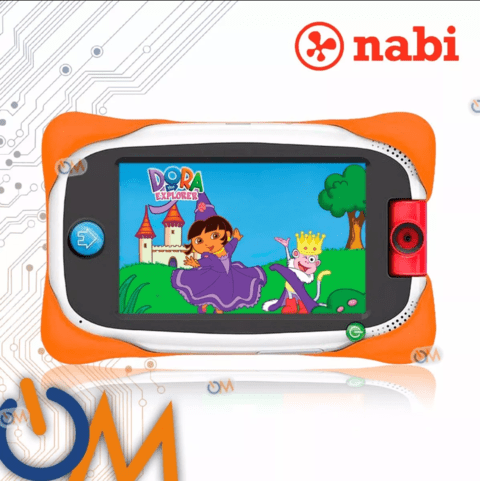 Tablet Nabi Nick Jr. Para Niños 16gb. Android 5' Antigolpes