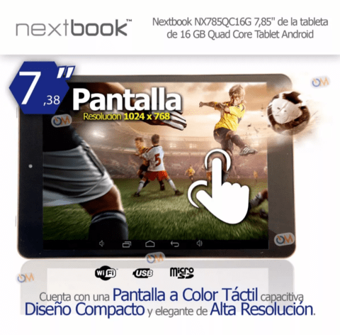 Tablet Nextbook 8 Pulgadas 16gb Quad Core Android en internet