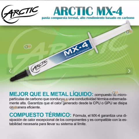 Pasta Termica Arctic Mx-4 Thermal Compound 4 Gramos - comprar online