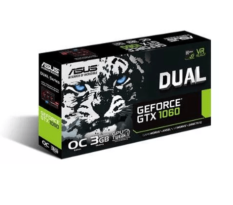 Placa Video Nvidia Geforce Gtx 1060 Gtx1060 6gb Asus Oc - comprar online