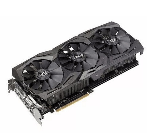 Placa De Video Asus Radeon Rx 580 8gb Strix Gaming Rog - comprar online