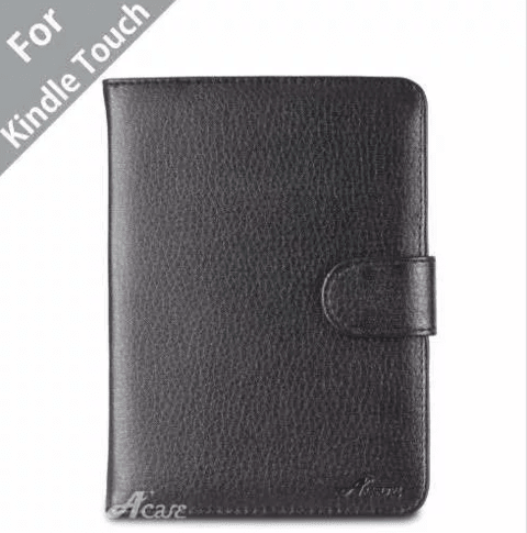 Funda Book Cover Amazon Kindle Touch Negro Acase en internet