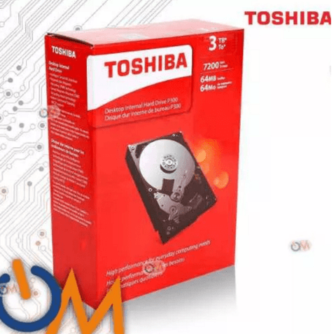 Disco Rigido Interno Toshiba 3tb Box En Caja  7200 R 6.0gb/s